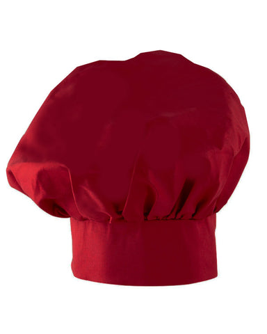 Adjustable Chef Mushroom top hat Red Color - Fashion Designz Uniforms
