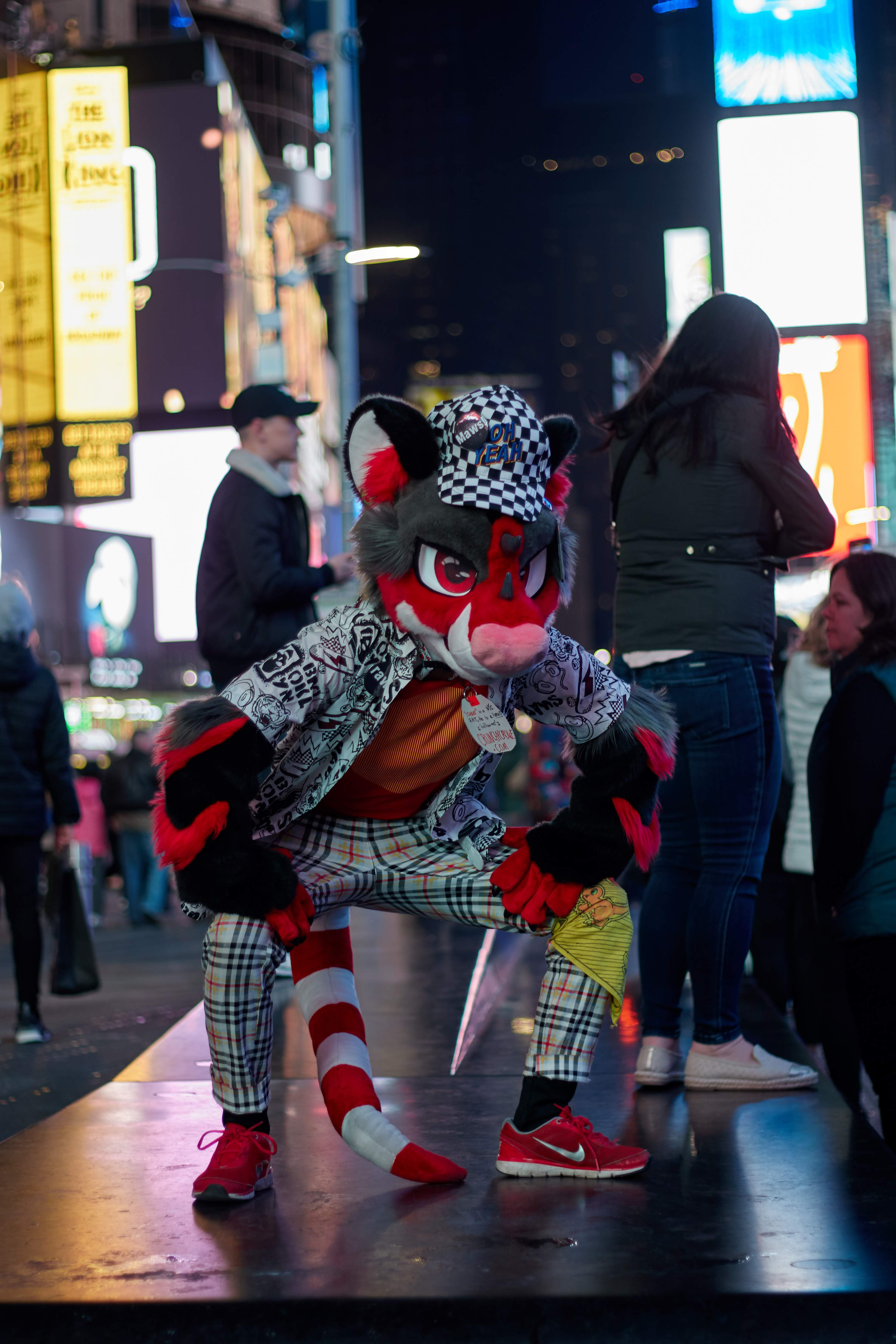 Stabby in times square