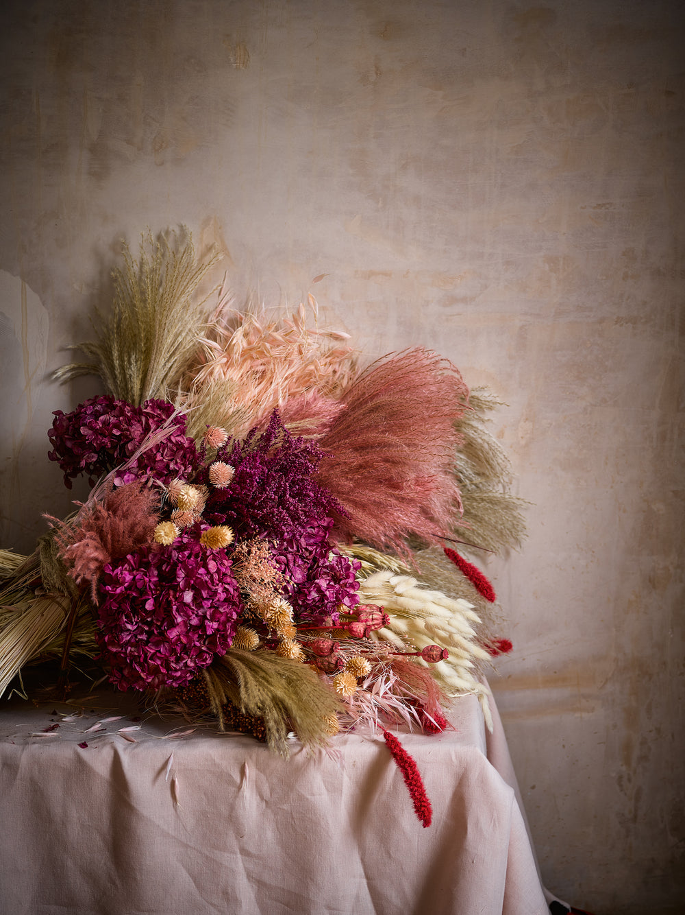 Unbelievably Realistic Faux Exquisite Dried Flowers Fox Flowers