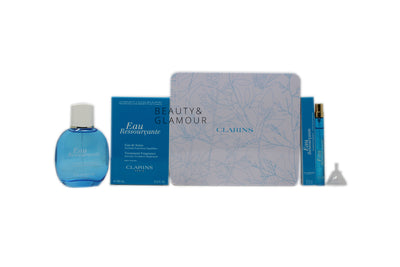CLARINS EAU RESSOURCANTE TREATMENT FRAGRANCE COLLECTION SET