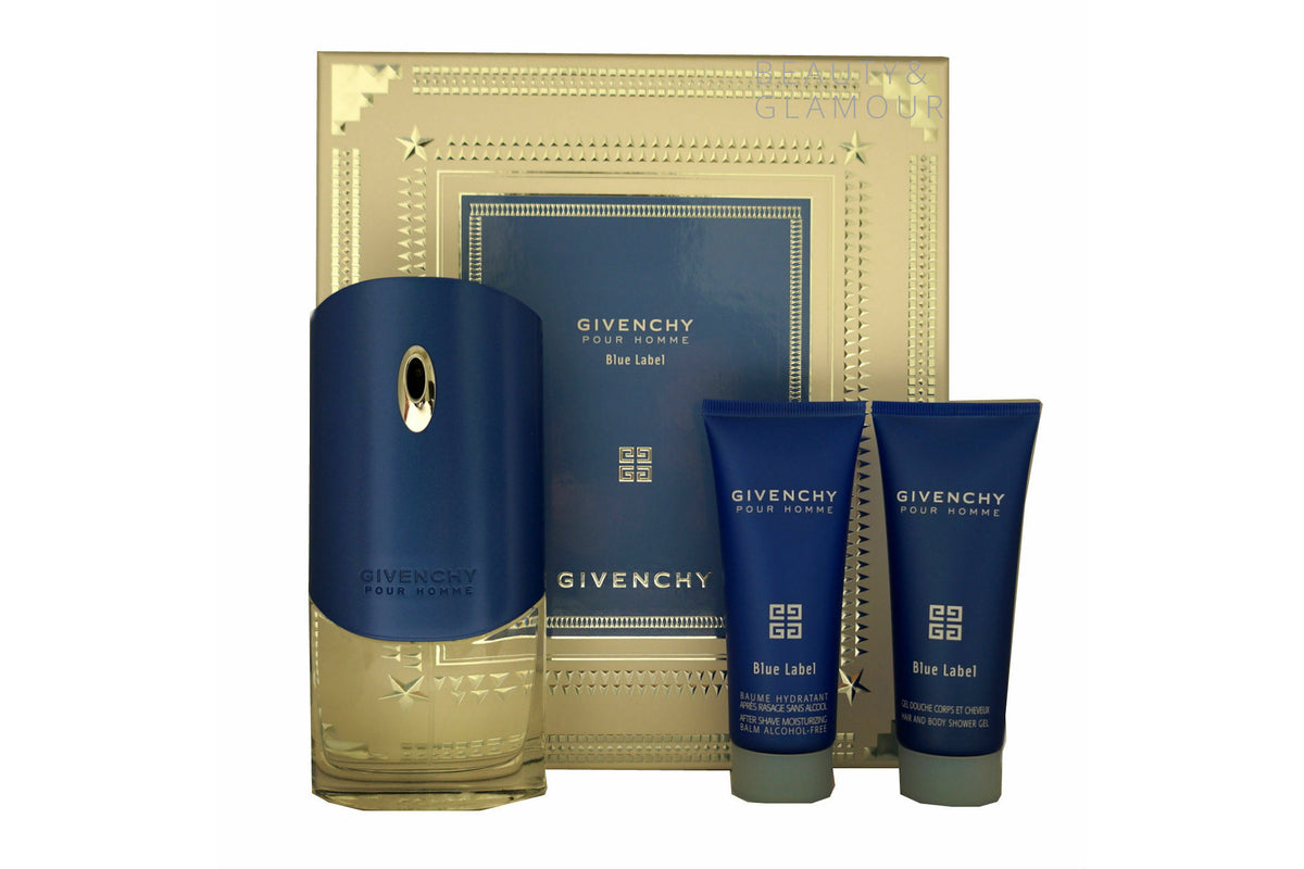 GIVENCHY BLUE LABEL POUR HOMME EAU DE TOILETTE SET