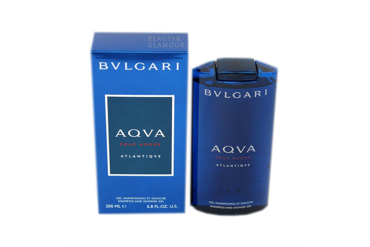 BVLGARI AQVA POUR HOMME ATLANTIQVE SHAMPOO AND SHOWER GEL