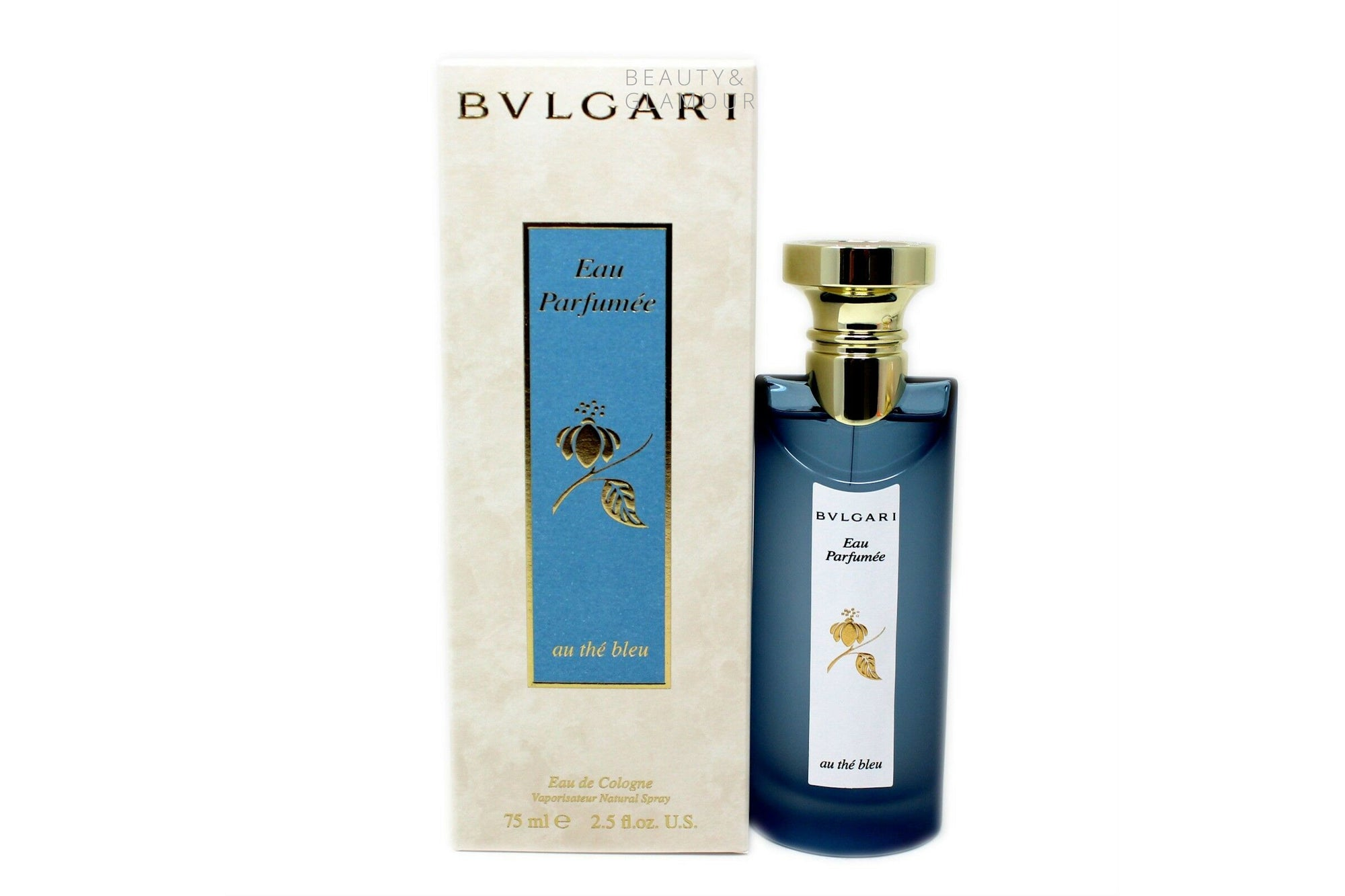 Bvlgari Eau Parfumee Au The Bleu Due De Cologne Spray