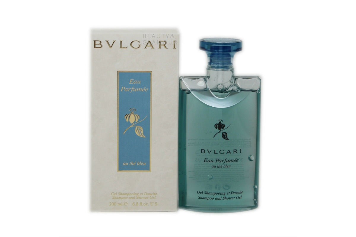BVLGARI EAU PARFUMEE AU THE BLEU SHAMPOO AND SHOWER GEL
