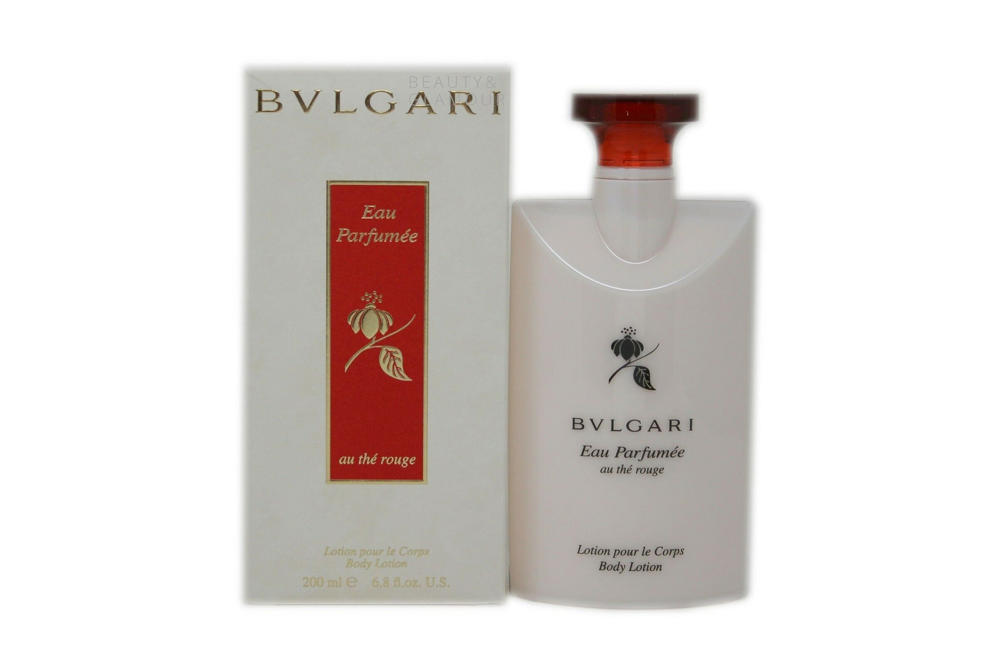 BVLGARI EAU PARFUMEE AU THE ROUGE BODY LOTION