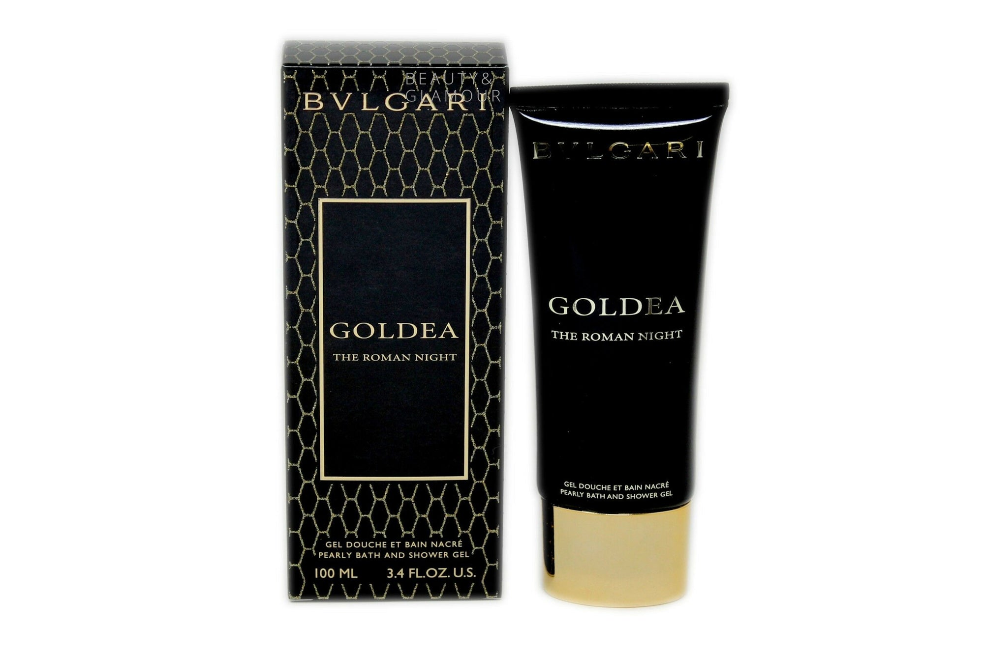 BVLGARI GOLDEA THE ROMAN NIGHT PEARLY BATH AND SHOWER GEL