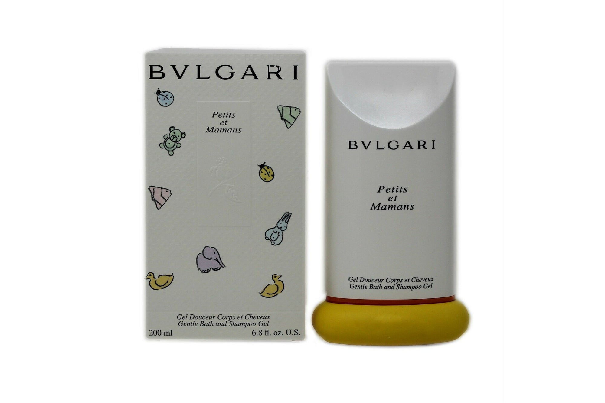 BVLGARI PETITS ET MAMANS GENTLE BATH AND SHAMPOO GEL