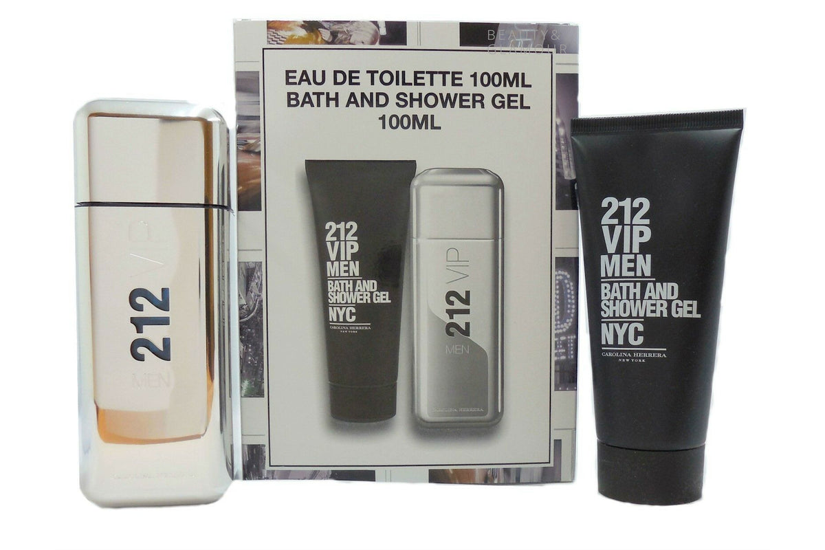 CAROLINA HERRERA 212 VIP EAU DE TOILETTE SET