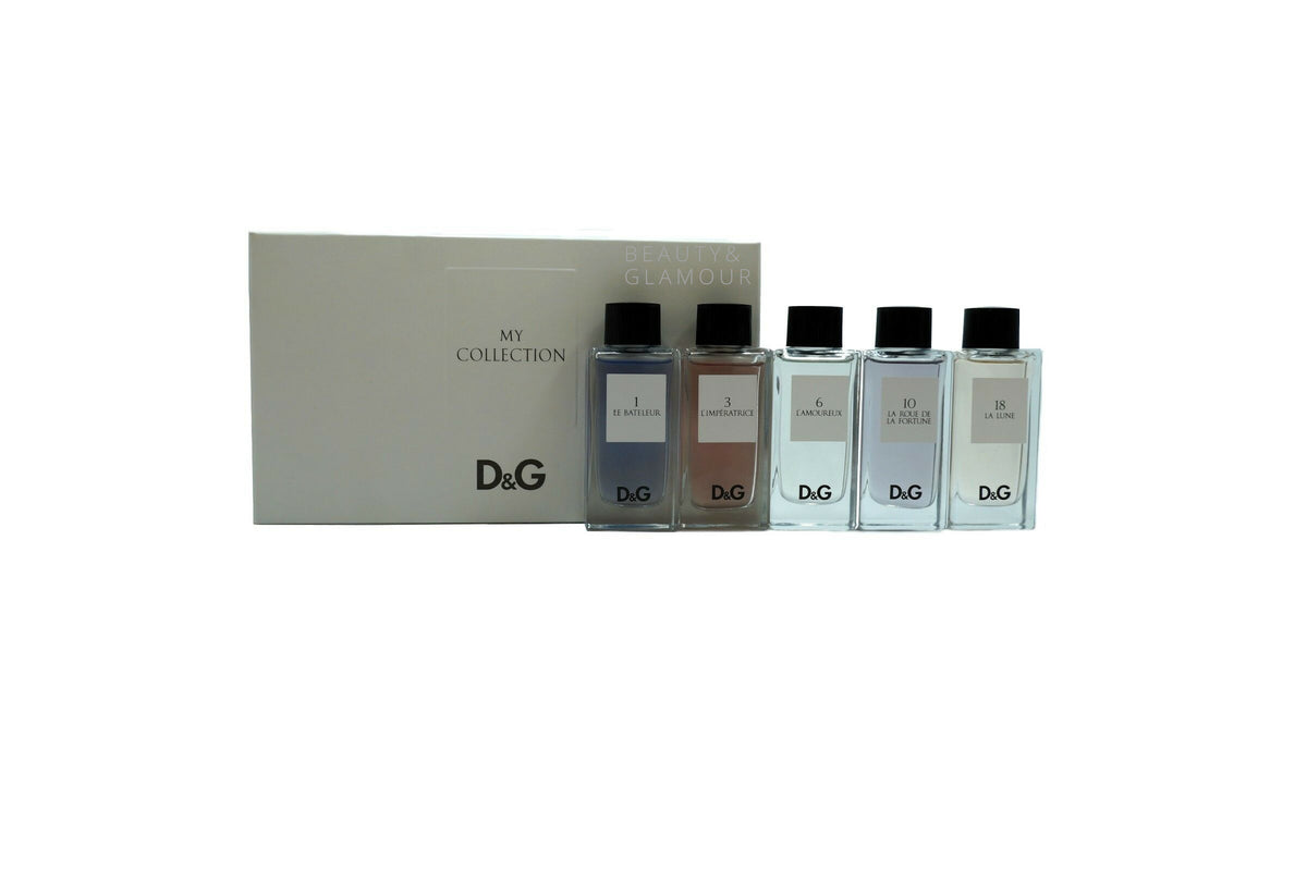 DOLCE&GABBANA MY COLLECTION 5 PIECE GIFT SET FOR WOMEN