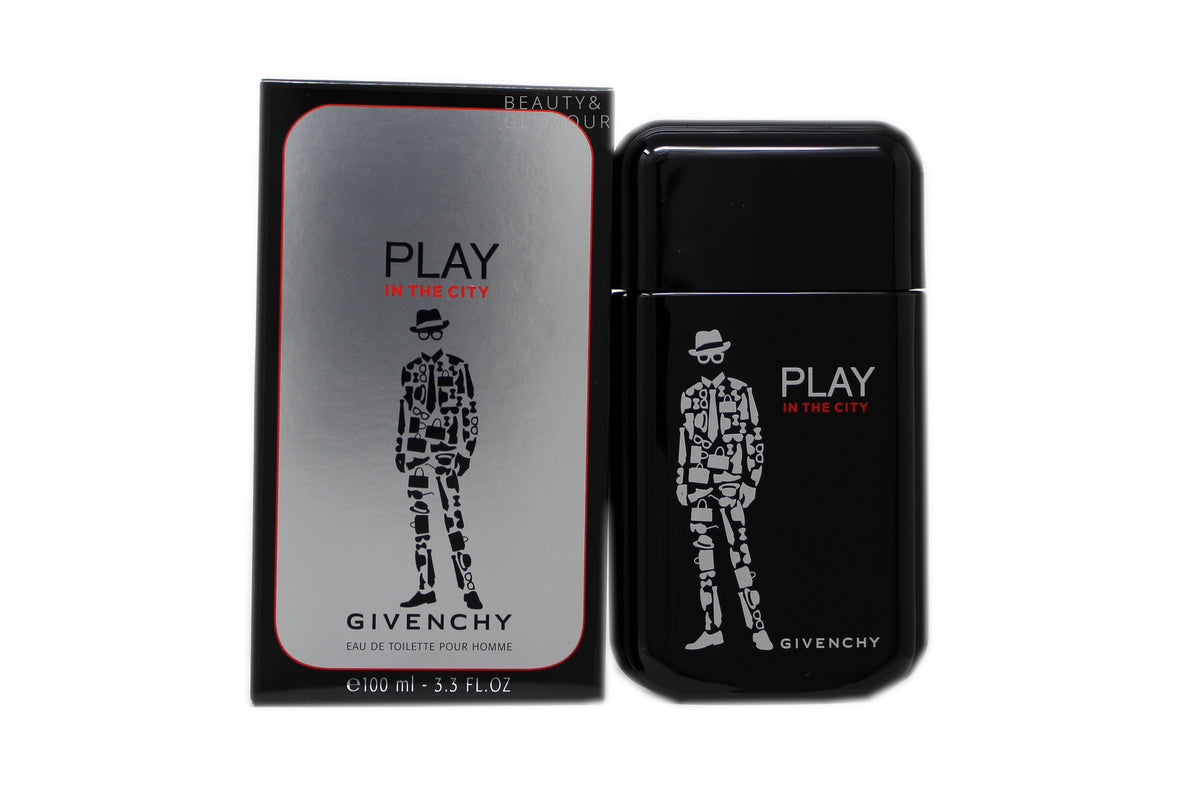 GIVENCHY PLAY IN THE CITY EAU DE TOILETTE POUR HOMME SPRAY