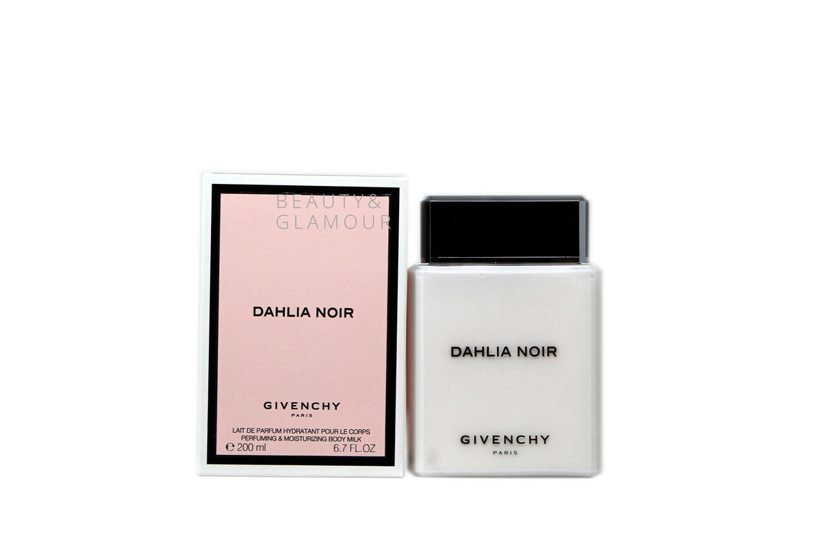 GIVENCHY DAHLIA NOIR PERFUMING & MOISTURIZING BODY MILK