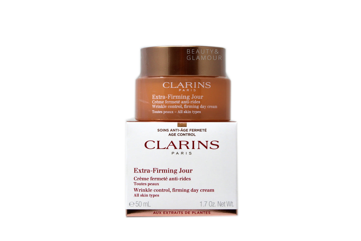CLARINS EXTRA-FIRMING WRINKLE CONTROL, FIRMING DAY CREAM FOR ALL SKIN TYPES
