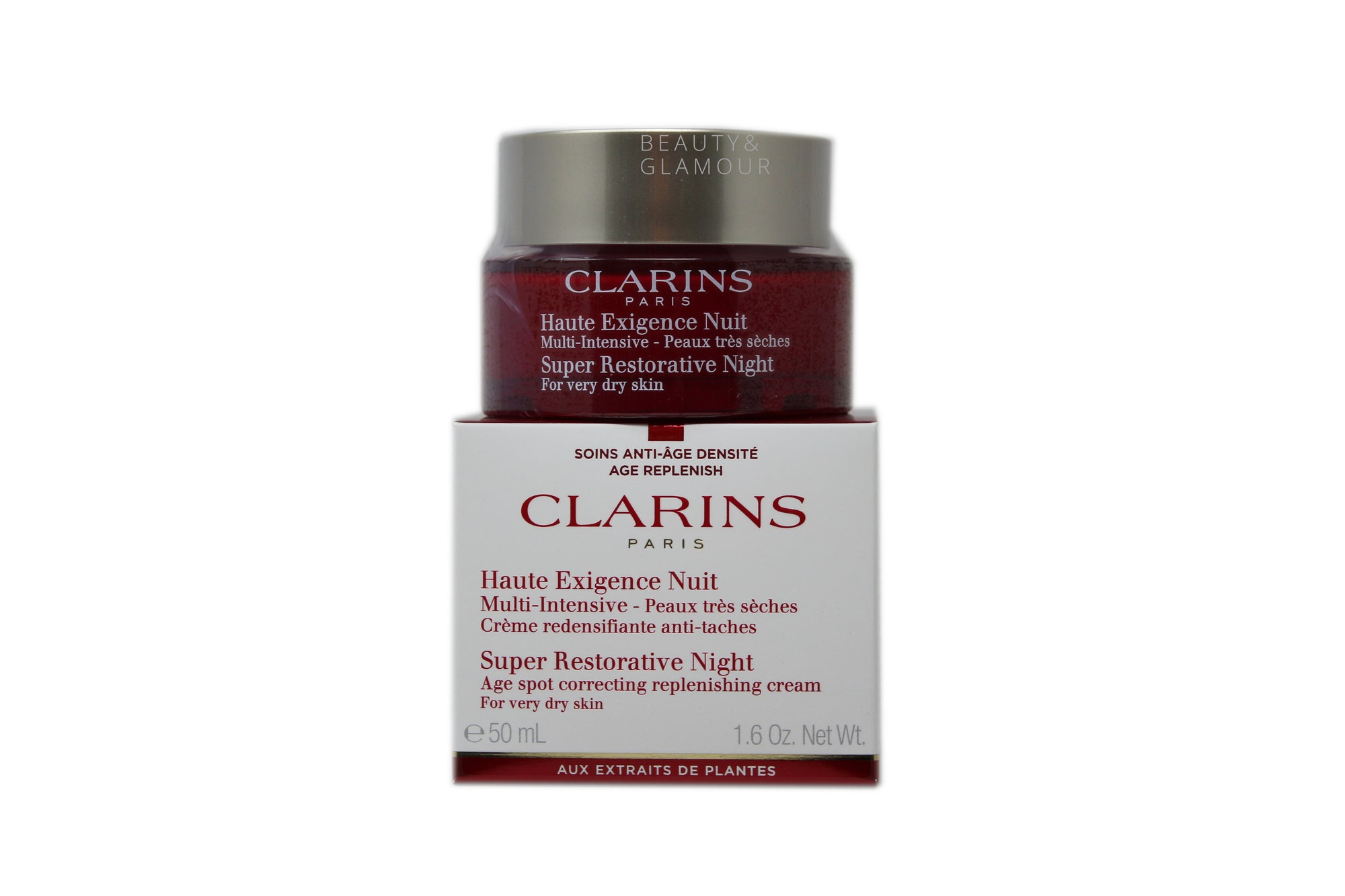 CLARINS SUPER RESTORATIVE NIGHT FOR DRY SKIN 50 ML