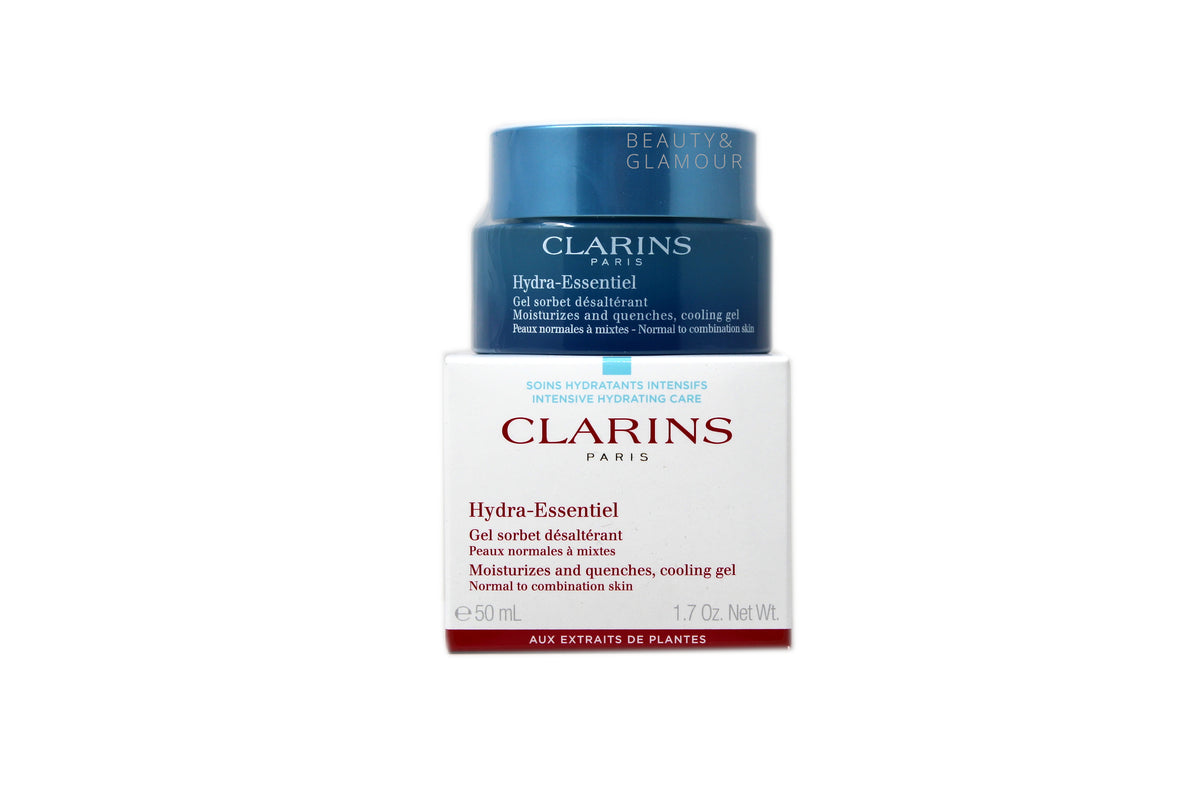 CLARINS HYDRA-ESSENTIEL COOLING GEL FOR NORMAL TO COMBINATION SKIN 50ML