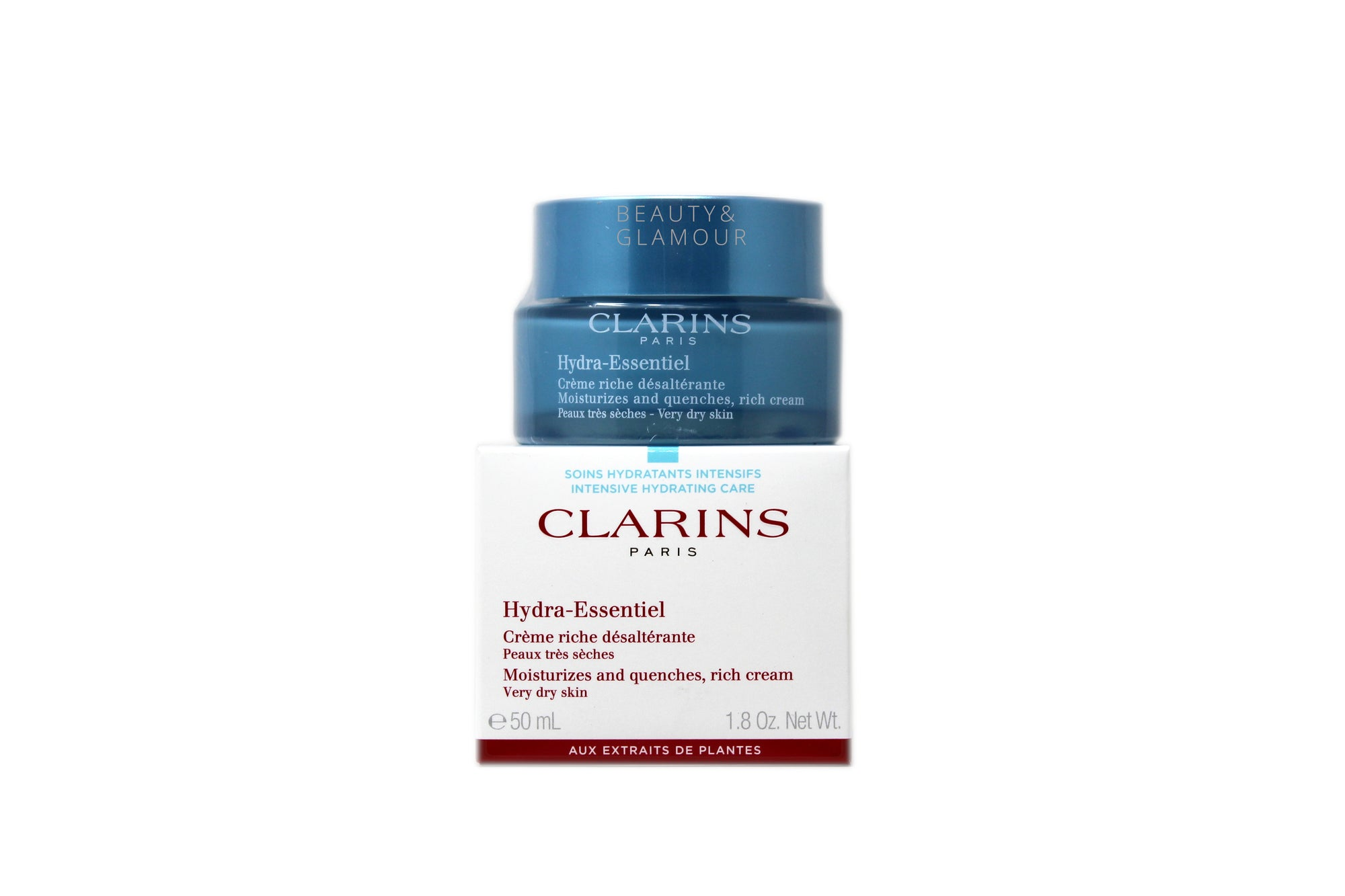 CLARINS HYDRA-ESSENTIEL RICH CREAM FOR VERY DRY SKIN
