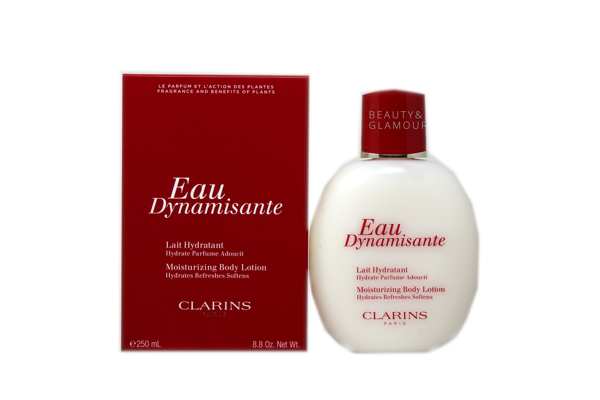 CLARINS EAU DYNAMISANTE MOISTURIZING BODY LOTION 250 ML/8.8 OZ.