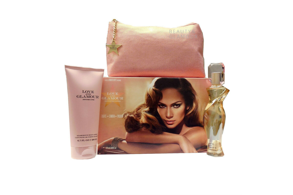 JENNIFER LOPEZ LOVE & GLAMOUR 3 PIECE GIFT SET FOR WOMEN