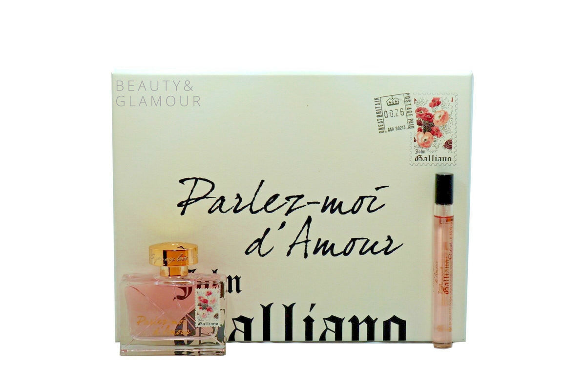 JOHN GALLIANO PARLEZ-MOI D'AMOUR 2 PIECE GIFT SET FOR WOMEN