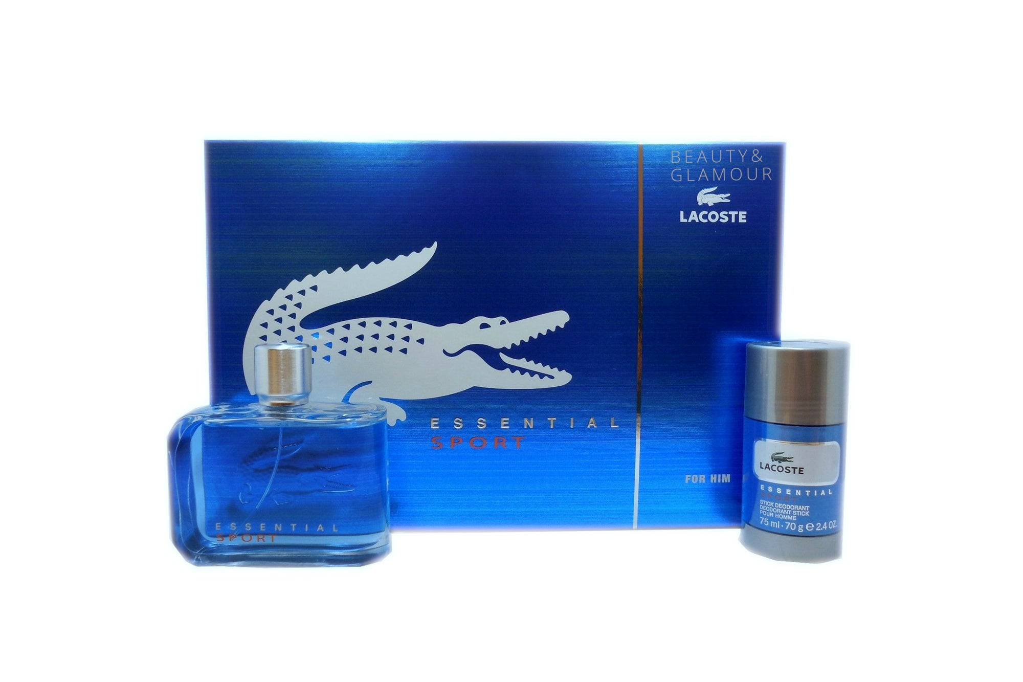 LACOSTE ESSENTIAL SPORT 2 PIECE GIFT SET FOR MEN
