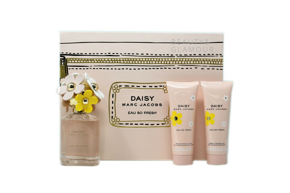 MARC JACOBS DAISY EAU SO FRESH EAU DE TOILETTE SET (MA810110)