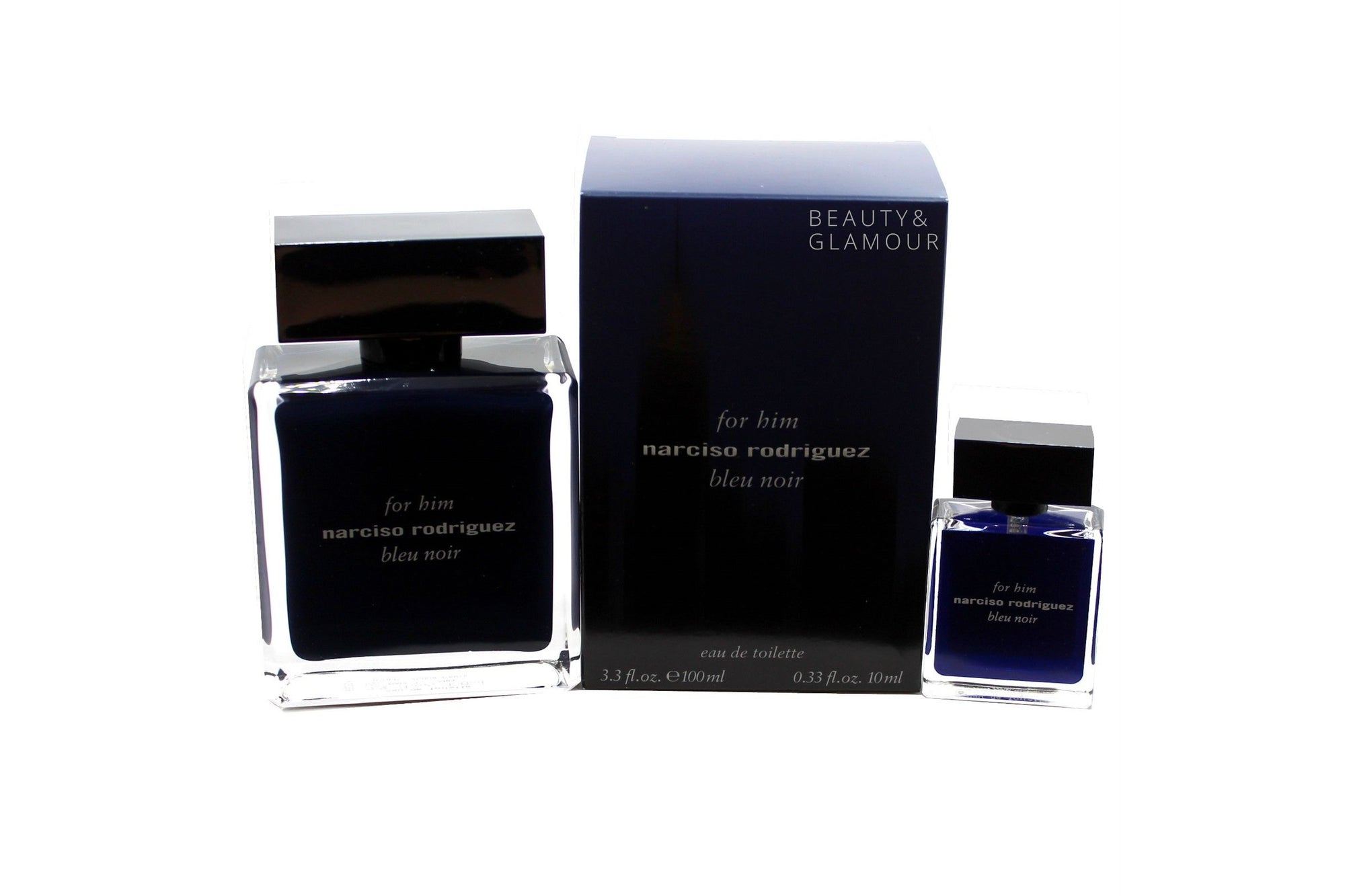 NARCISO RODRIGUEZ BLUE NOIR F/H 2PC SET EAU DE TOILETTE SPR 100ML
