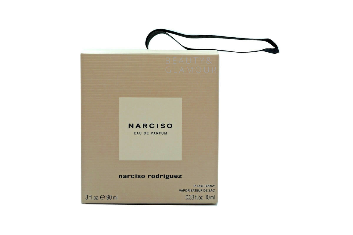 NARCISO BY NARCISO RODRIGUEZ 2PC GIFT SET WITH EAU DE PARFUM SPRAY 90ML
