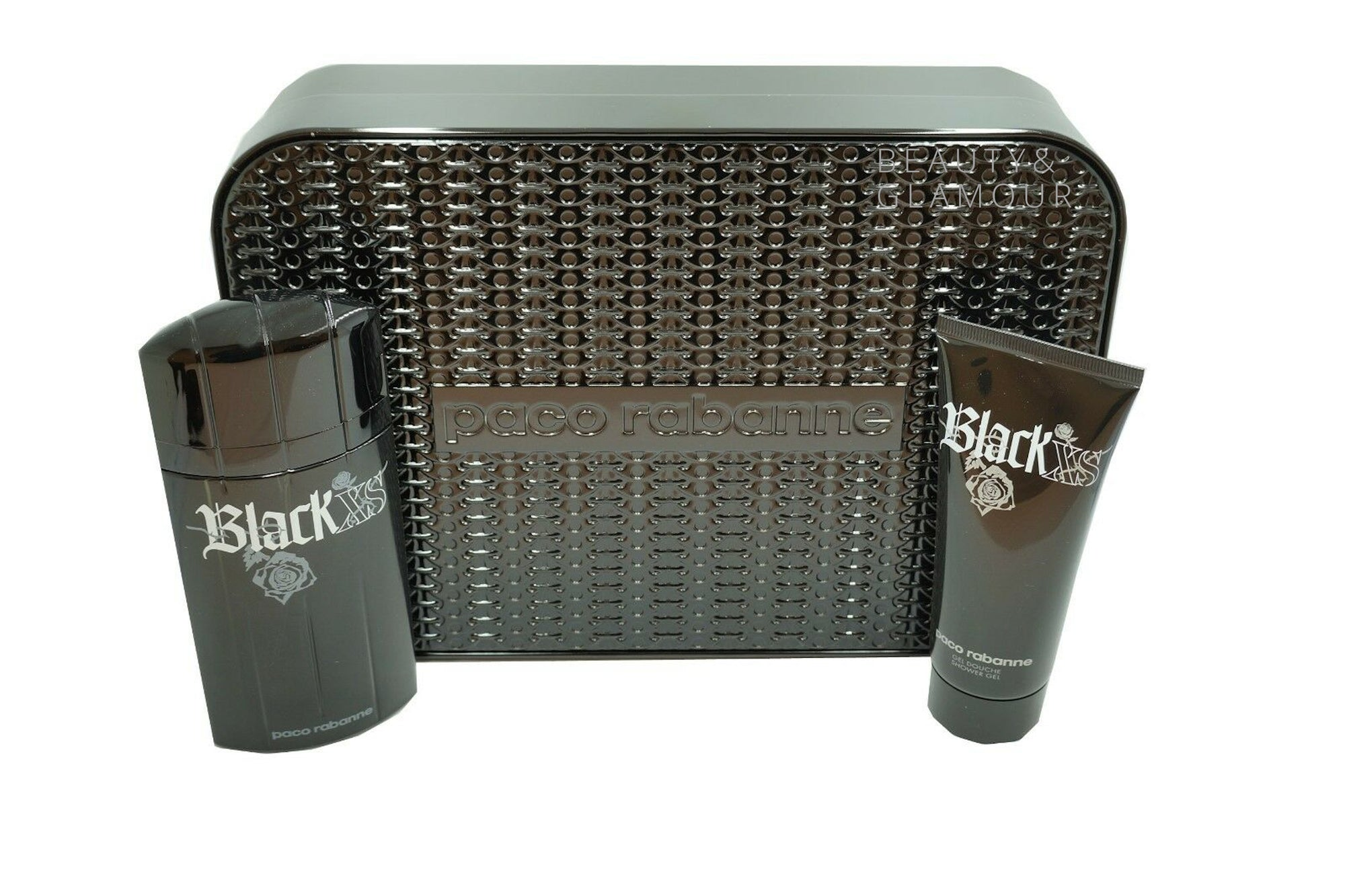 PACO RABANNE BLACK XS 2 PIECE GIFT SET EAU DE TOILETTE SPRAY 100ML