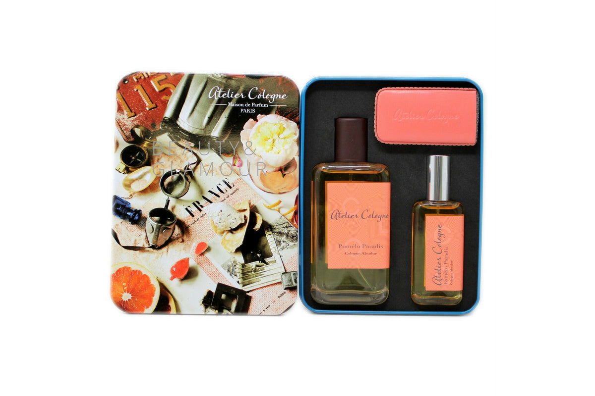 ATELIER COLOGNE POMELO PARADIS COLOGNE ABSOLUE (PURE PERFUME) SET