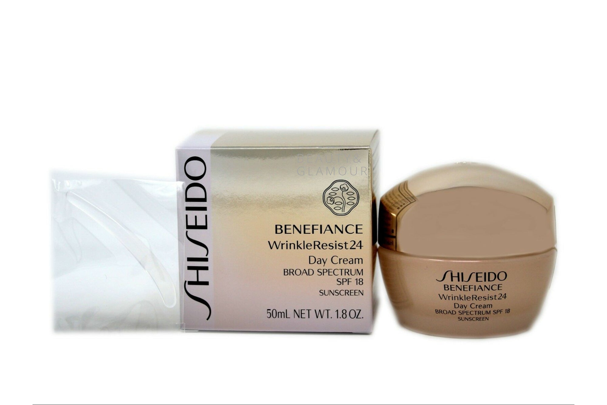 SHISEIDO BENEFIANCE WRINKLE RESIST 24 DAY CREAM SPF18