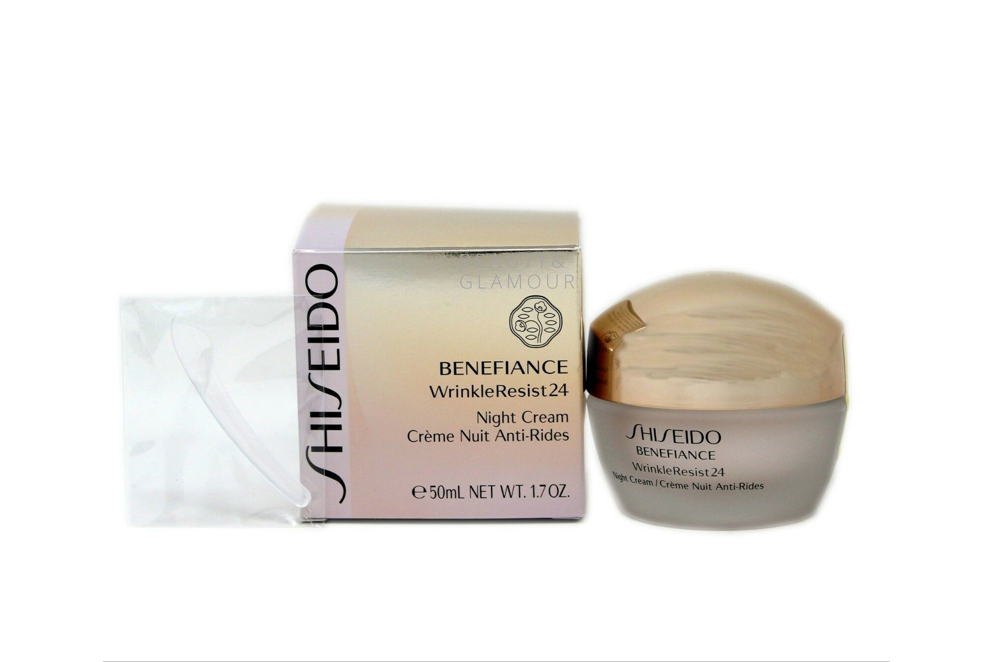 SHISEIDO BENEFIANCE WRINKLE RESIST 24 NIGHT CREAM ANTI-RIDES