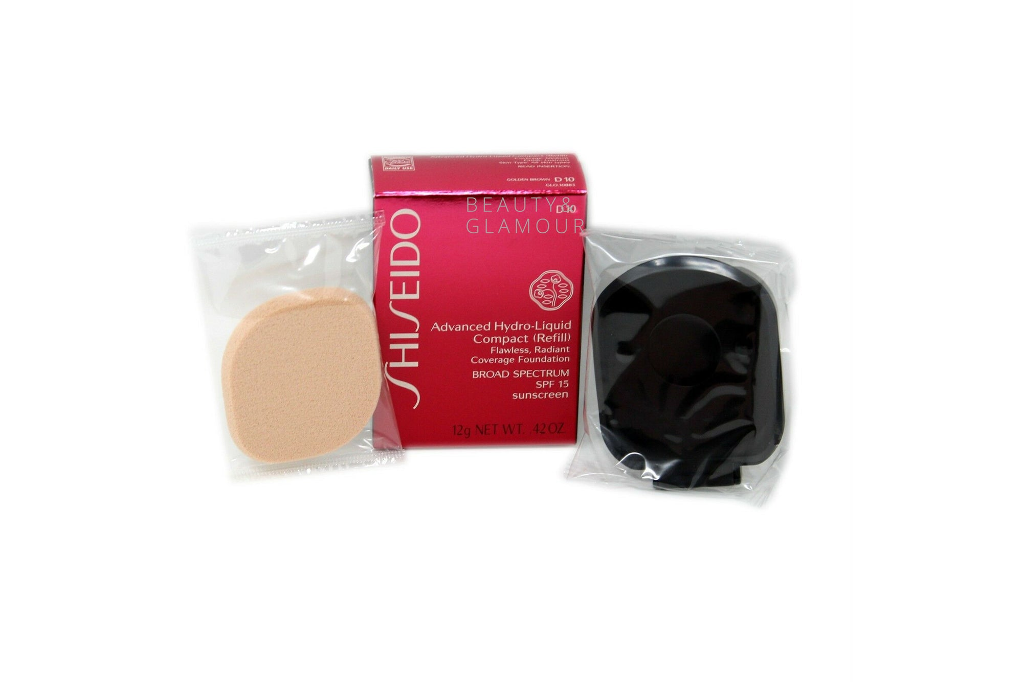 SHISEIDO ADVANCED HYDRO-LIQUID COMPACT (REFILL) SPF-15 SUNSCREEN