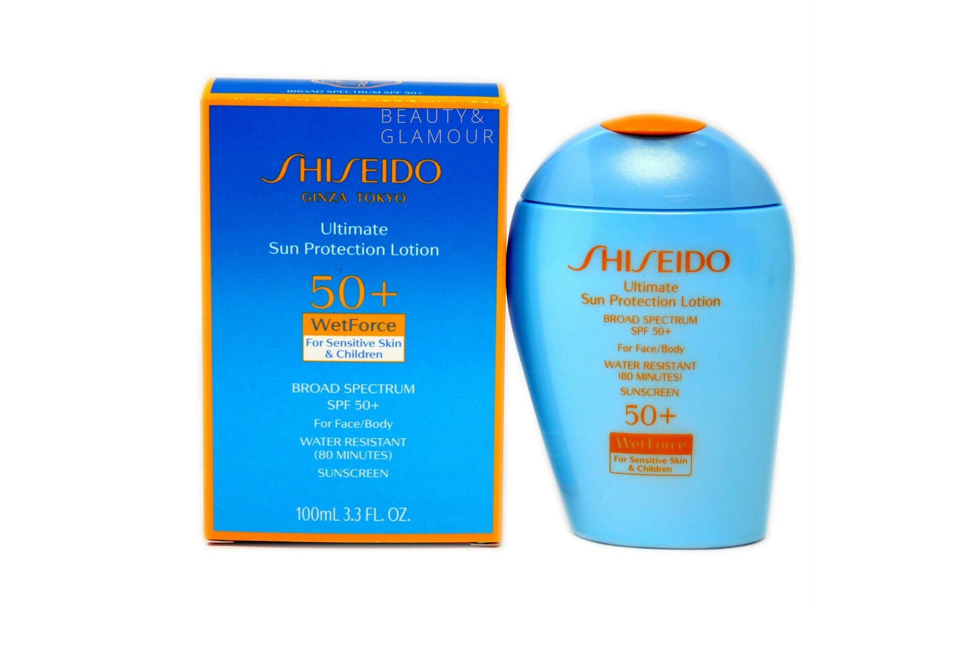 Shiseido Ultimate Sun Protection Lotion SPF 50+ Sunscreen