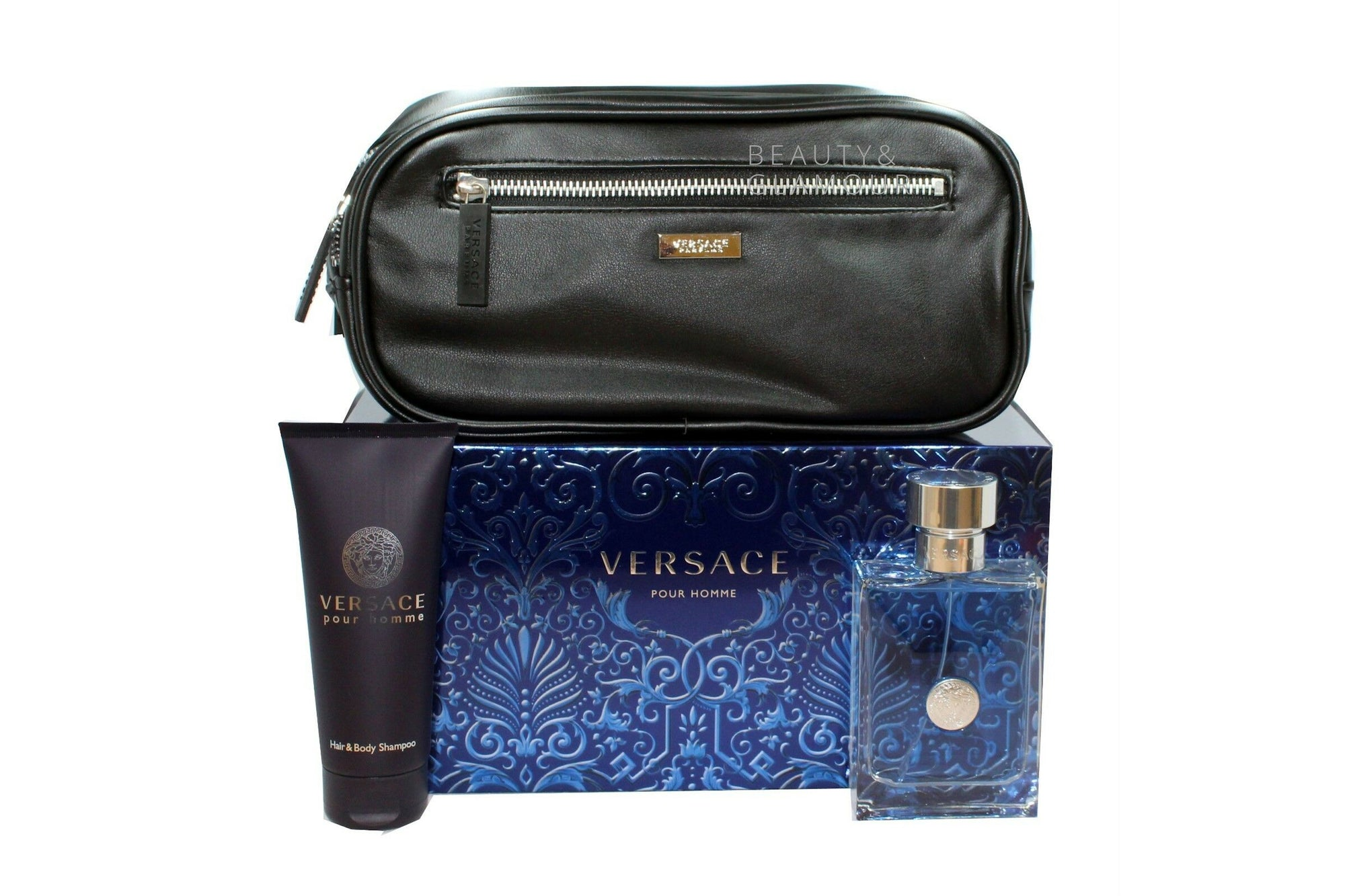 VERSACE POUR HOMME EAU DE TOILETTE NATURAL SPRAY 100 ML/3.4 FL.OZ.