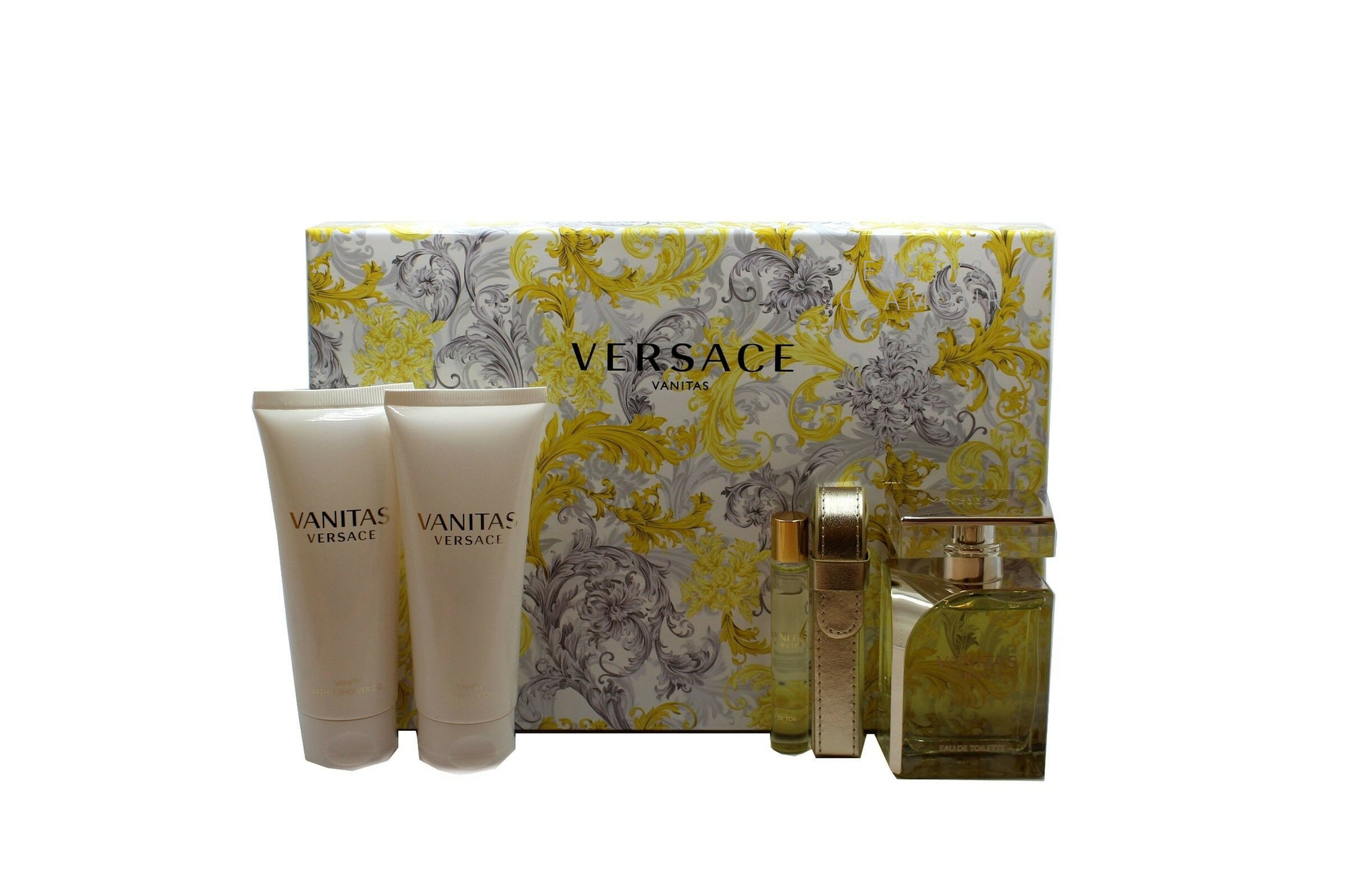 VERSACE VANITAS 4 PIECE GIFT SET FOR WOMEN