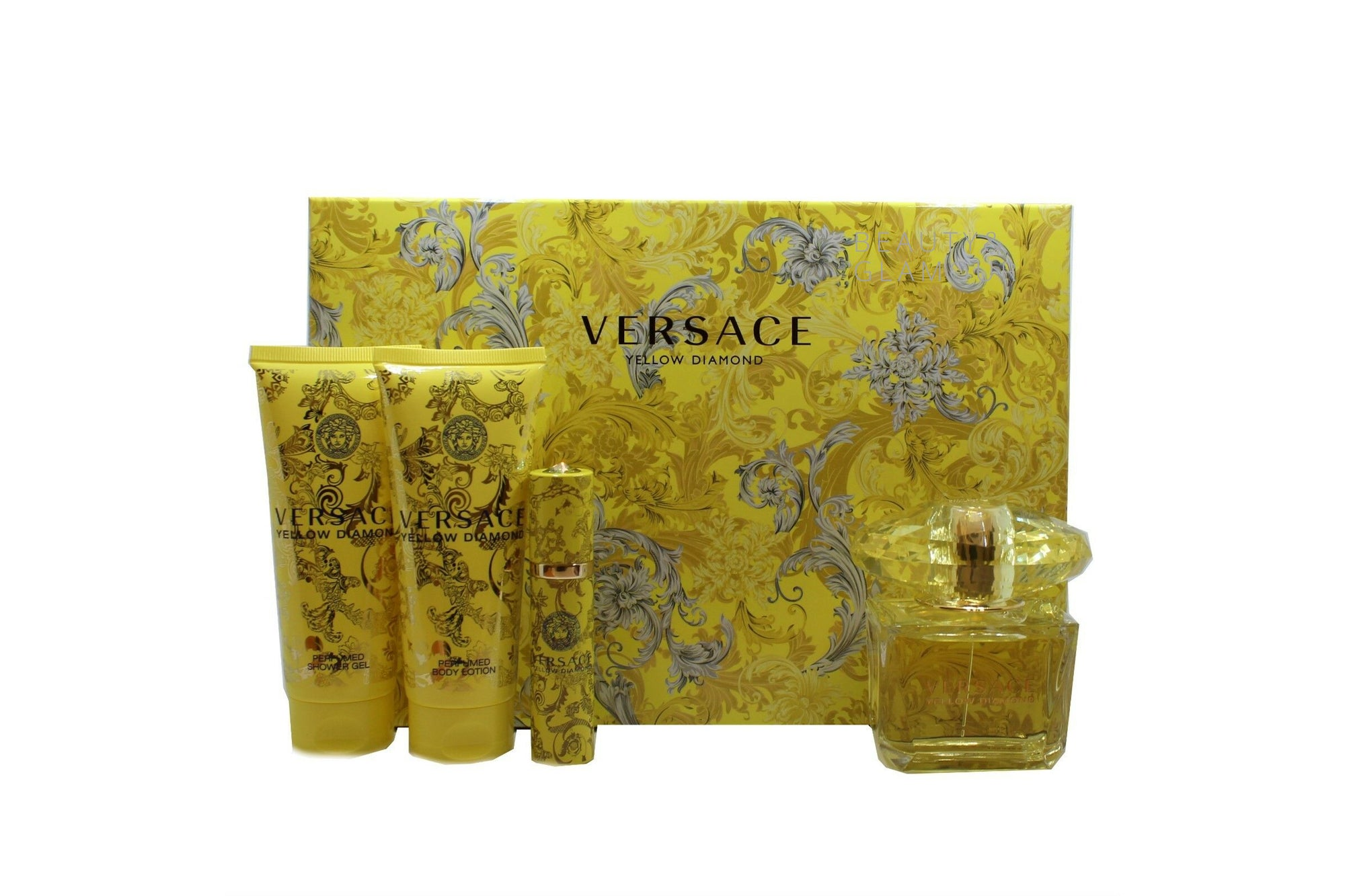 VERSACE YELLOW DIAMOND EAU DE TOILETTE NATURAL SPRAY 90 ML/3 FL.OZ.