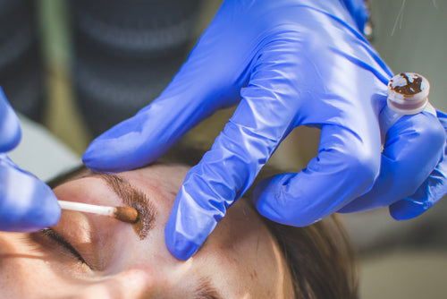Top 5 mistakes microblading technicians make with topical anesthetics