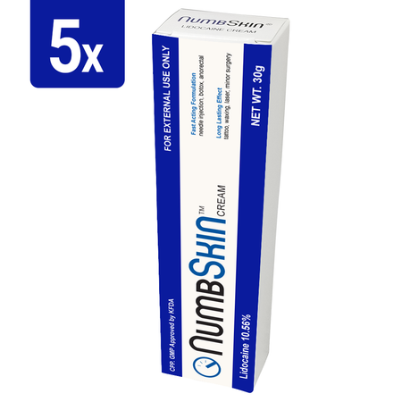 1 Tube of Numbskin Cream 30g