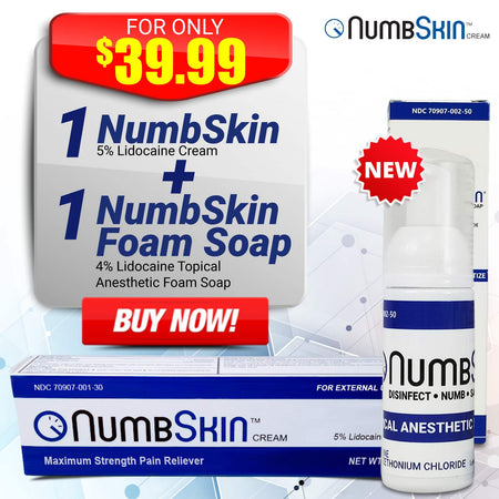 25 Tubes of Numbskin Cream 30g