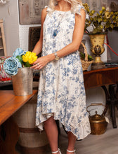 Toile and Lace Dress