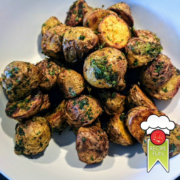 Roasted Potatoes with Mexican Gremolata