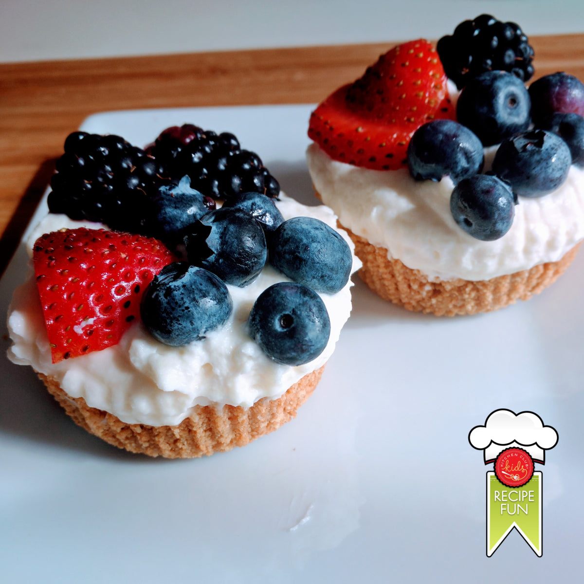 Summer Berry Mascarpone Tarts