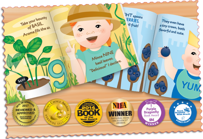 Kitchen Club Kids, Award Winning Children's Books, Picture Books, Children's Recipes