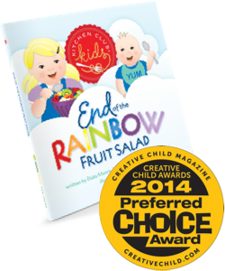 Creative Child Magazine, Preferred Choice Award, Kitchen Club Kids, Award Winning, Children's Books