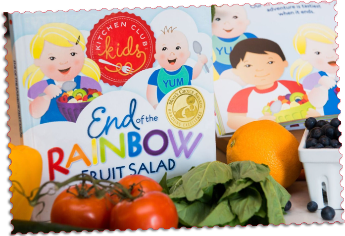 Kitchen Club Kids, Cooking with Little Chefs, Children's Recipe Picture Books, Gifts, Gift Set, Birthday Gift for Kids
