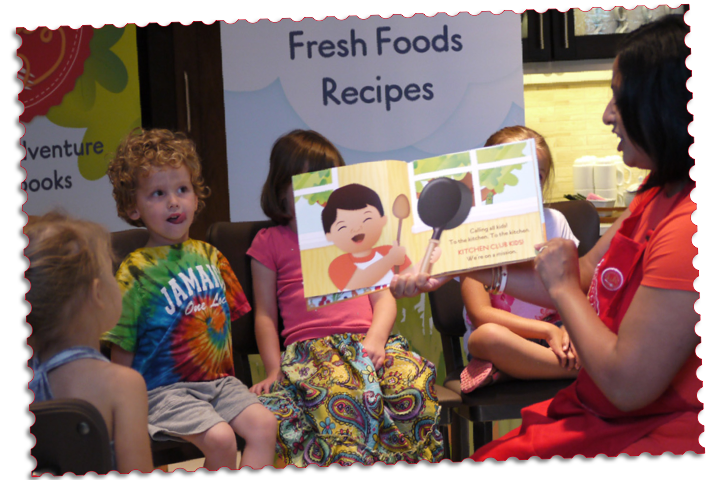 Kitchen Club Kids, Cooking with Little Chefs, Children's Recipe Picture Books, Cooking Class, Birthday Party