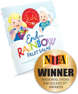 National Indie Excellence Award, Kitchen Club Kids, Award Winning, Children's Books