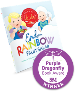 Purple Dragonfly Book Award, Kitchen Club Kids, Award Winning, Children's Books