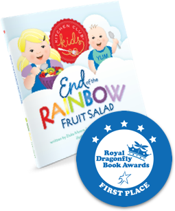Royal Dragonfly, First Place, Kitchen Club Kids, Award Winning, Children's Books