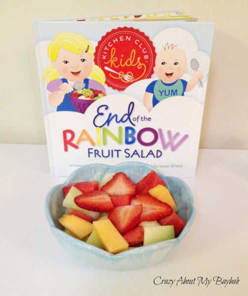 Kitchen Club Kids, End of the Rainbow, Fruit Salad, Recipe, Storybook