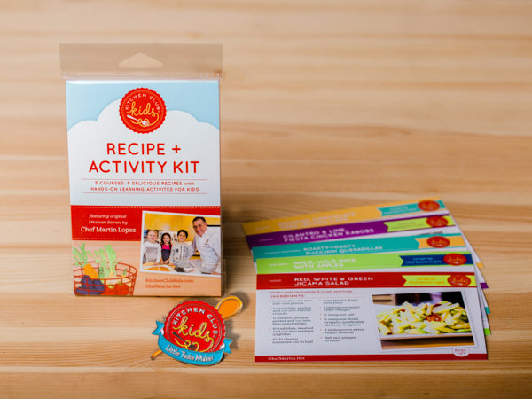 Recipe + Activity Gift Set